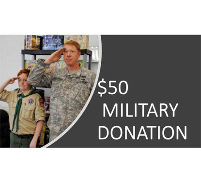 Picture of $50 Military Donation - Peanuts